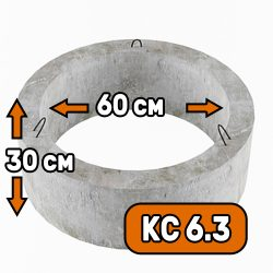 Горловина колодца КС 6-3 - фото